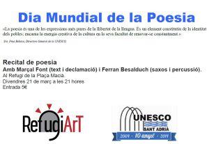 Recital poètic 21 de març
